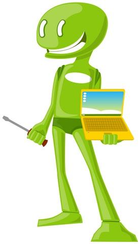 תחילת הדרך כטכנאי - עבודה במעבדת מחשבים ברמת גן